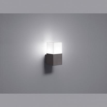 quadratische led wand aussenlampe. Black Bedroom Furniture Sets. Home Design Ideas