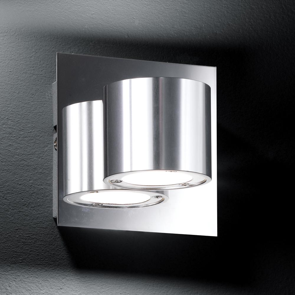 Elegante schlichte led wandlampe 6 watt for Led wandlampe