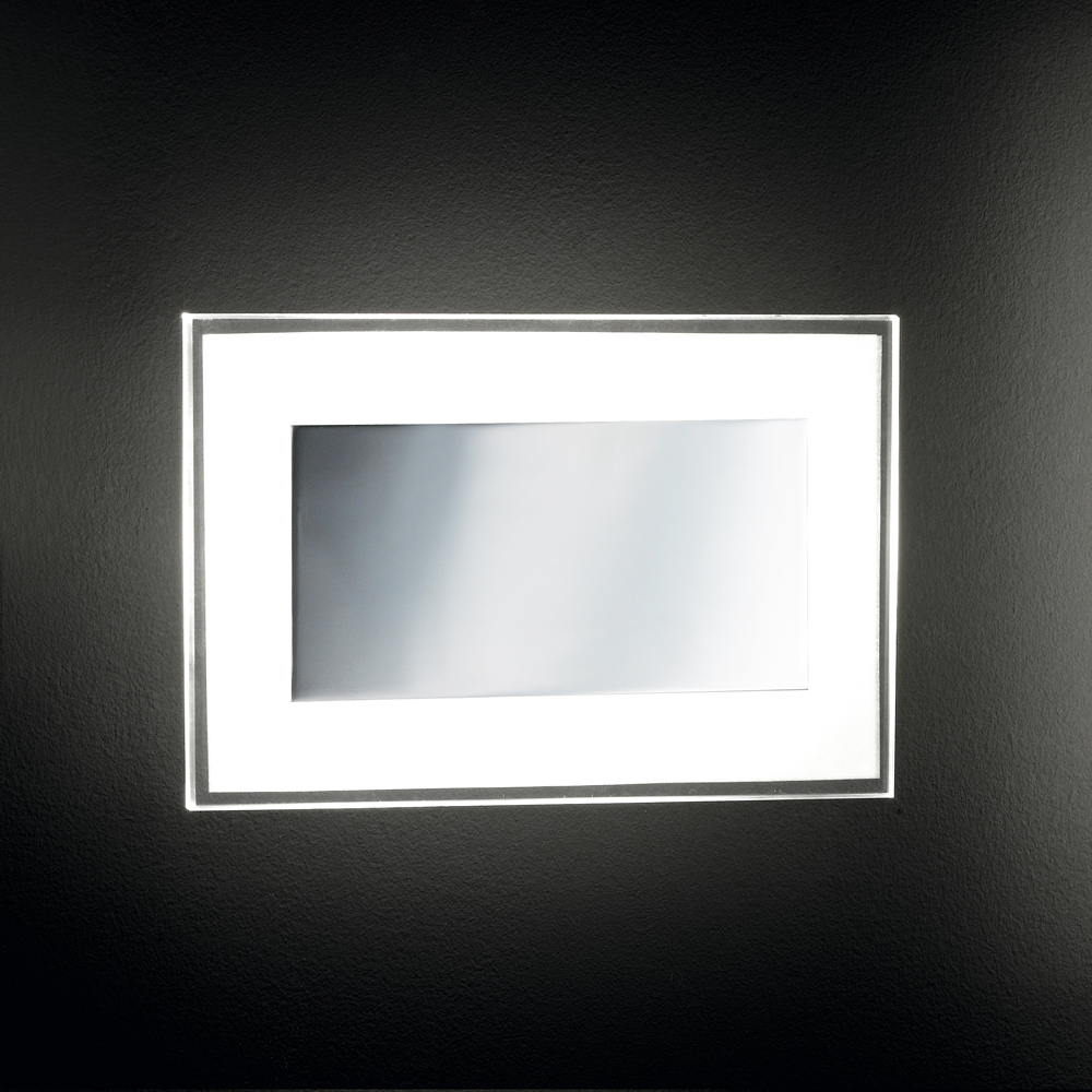 Reizvoll illuminierte led wandlampe 2 flammig for Led wandlampe