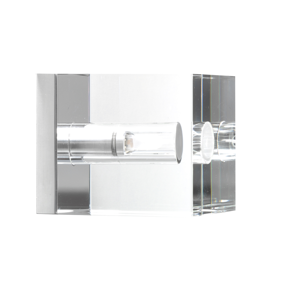kubus aus poliertem glas wand und deckenlampe anta zoe. Black Bedroom Furniture Sets. Home Design Ideas