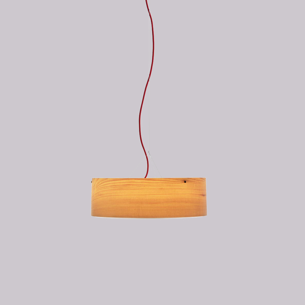 warmleuchtende h ngelampe arba aus ahornfurnier. Black Bedroom Furniture Sets. Home Design Ideas