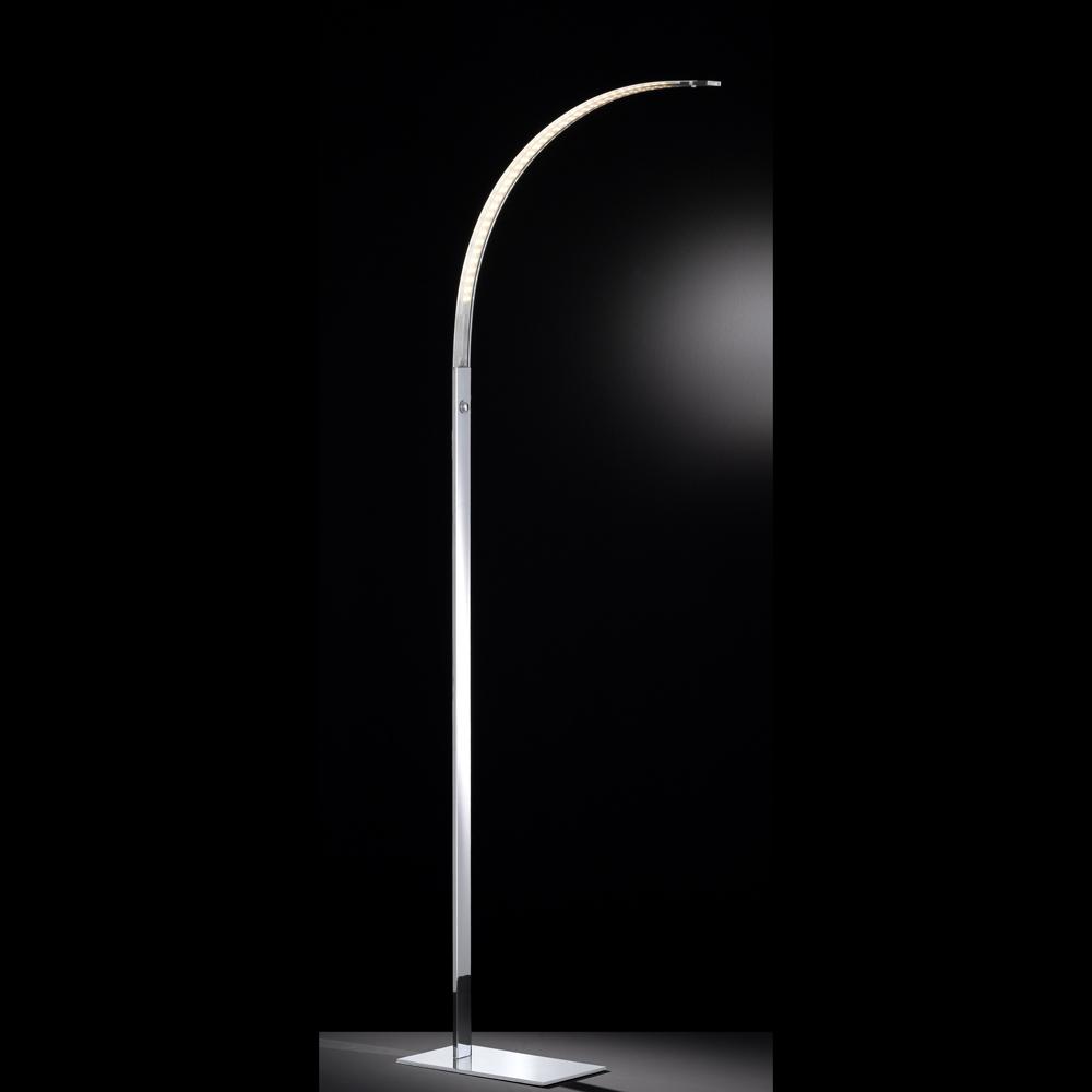 wofi luz led stehlampe dimmer integriert