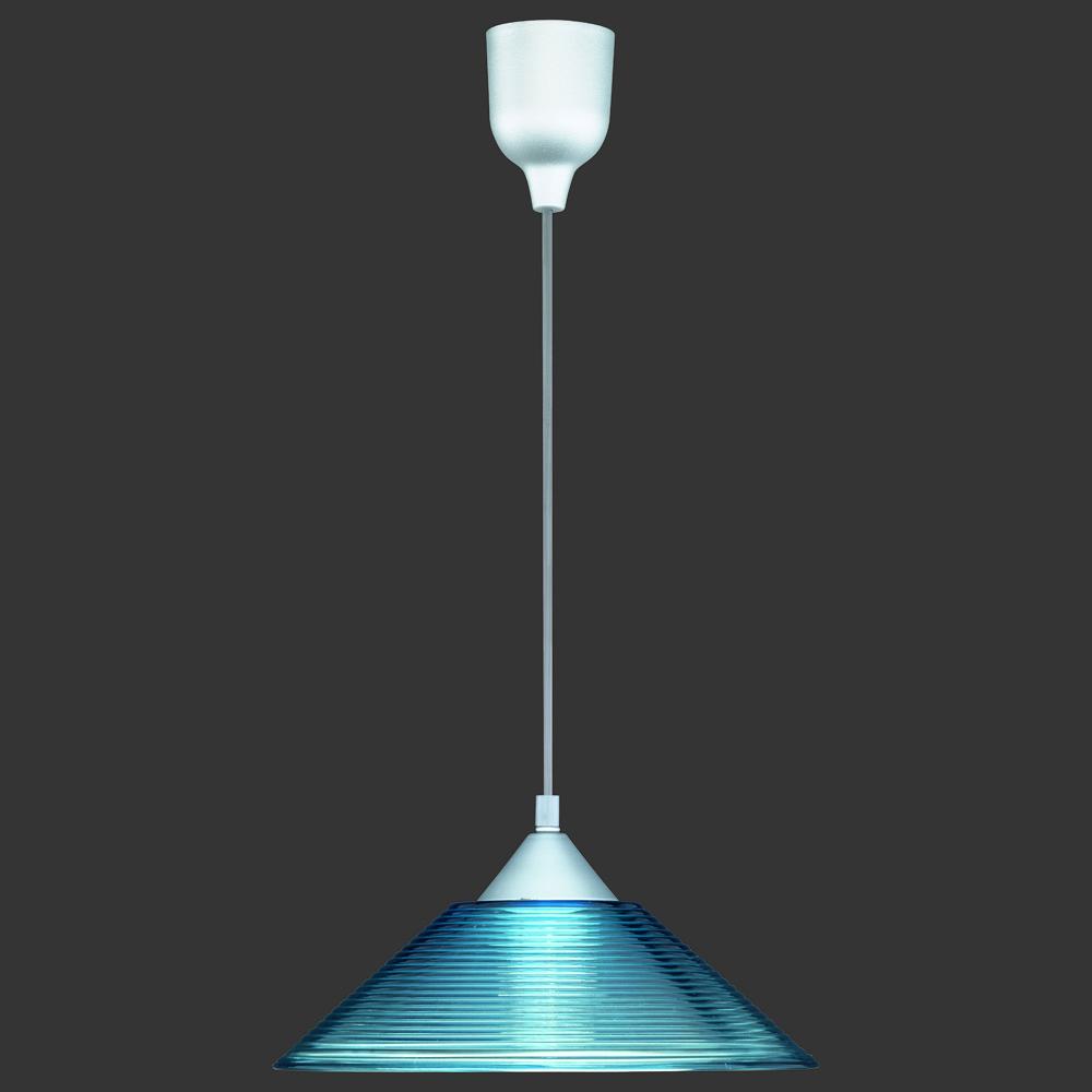 pendelleuchte glas blau transparent. Black Bedroom Furniture Sets. Home Design Ideas