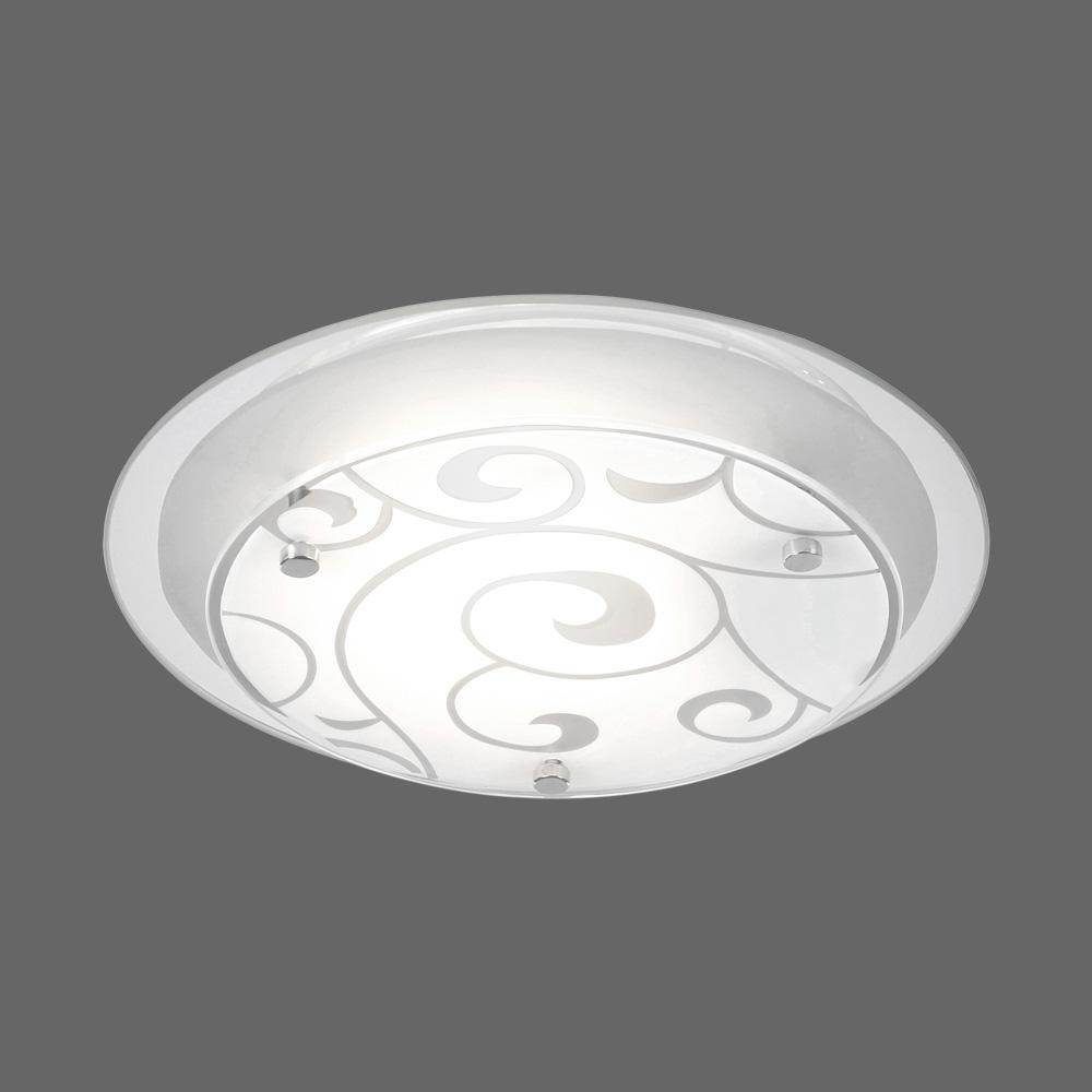 Runde deckenlampe mit spiraldesign klein for Runde deckenlampe