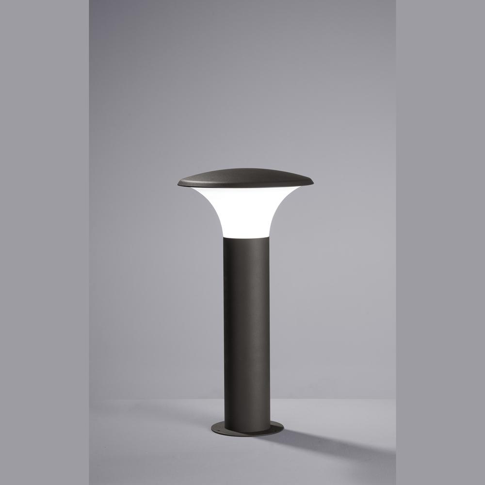 led aussen stehlampe in s ulenform. Black Bedroom Furniture Sets. Home Design Ideas