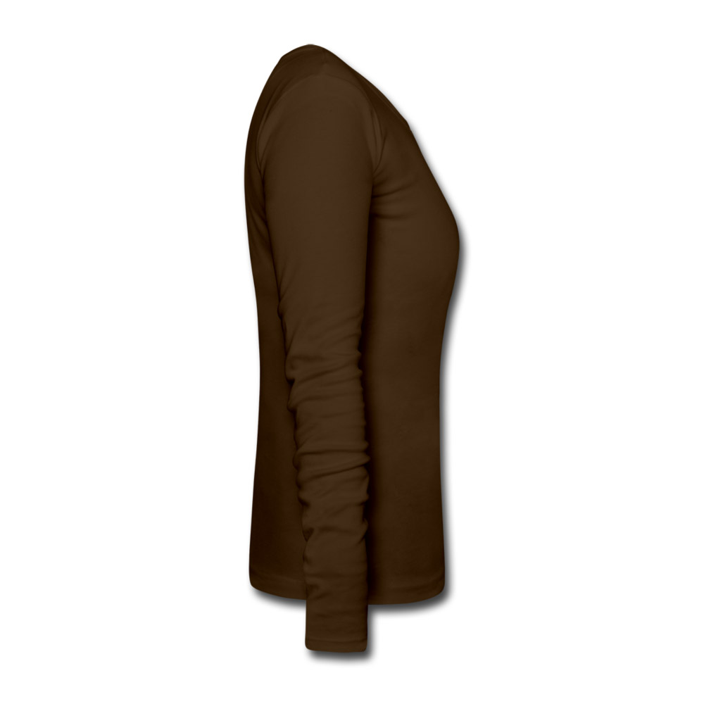 damen langarmshirt katze braun s online bestellen zoostyle. Black Bedroom Furniture Sets. Home Design Ideas