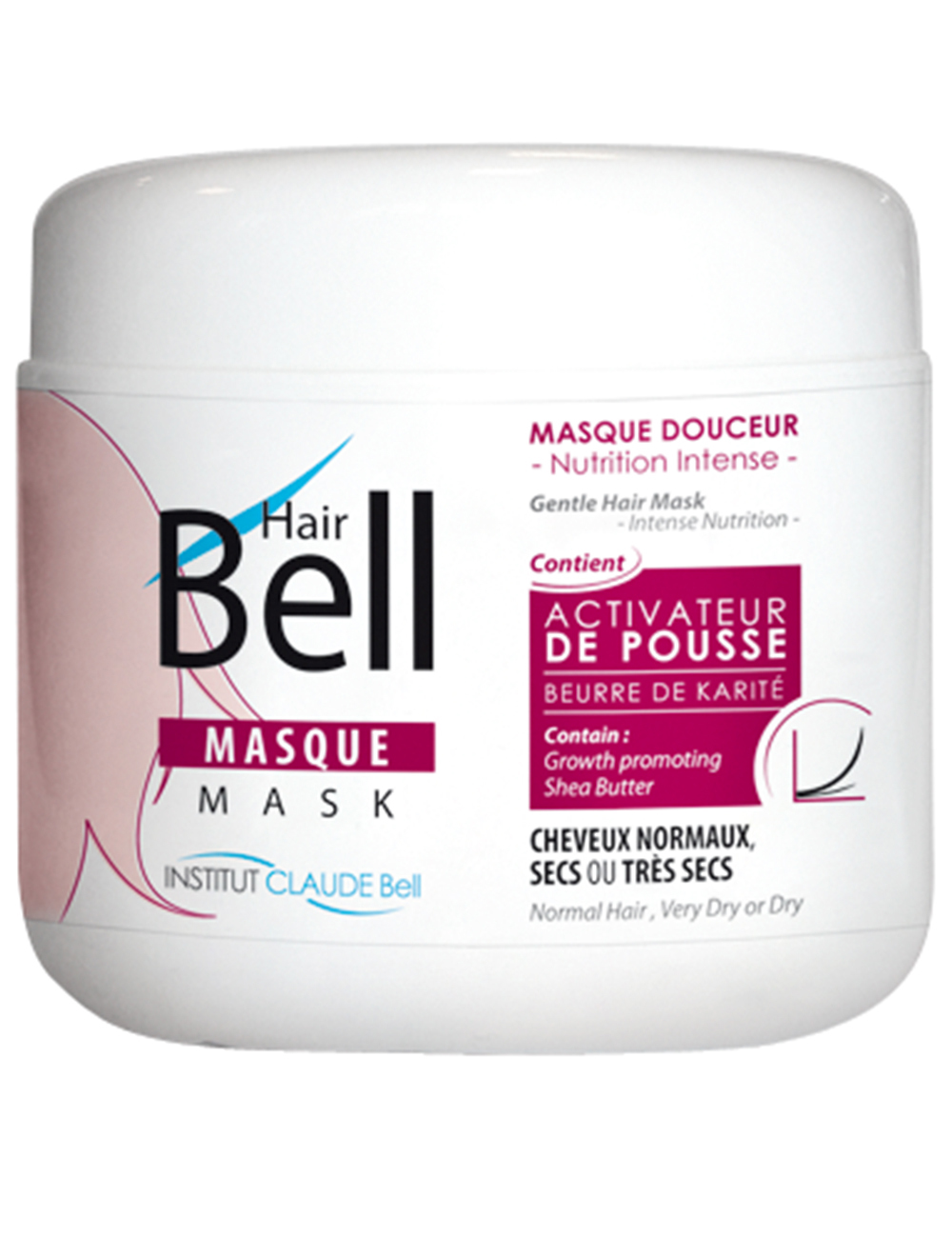 masque capillaire hairbell 500 ml. Black Bedroom Furniture Sets. Home Design Ideas