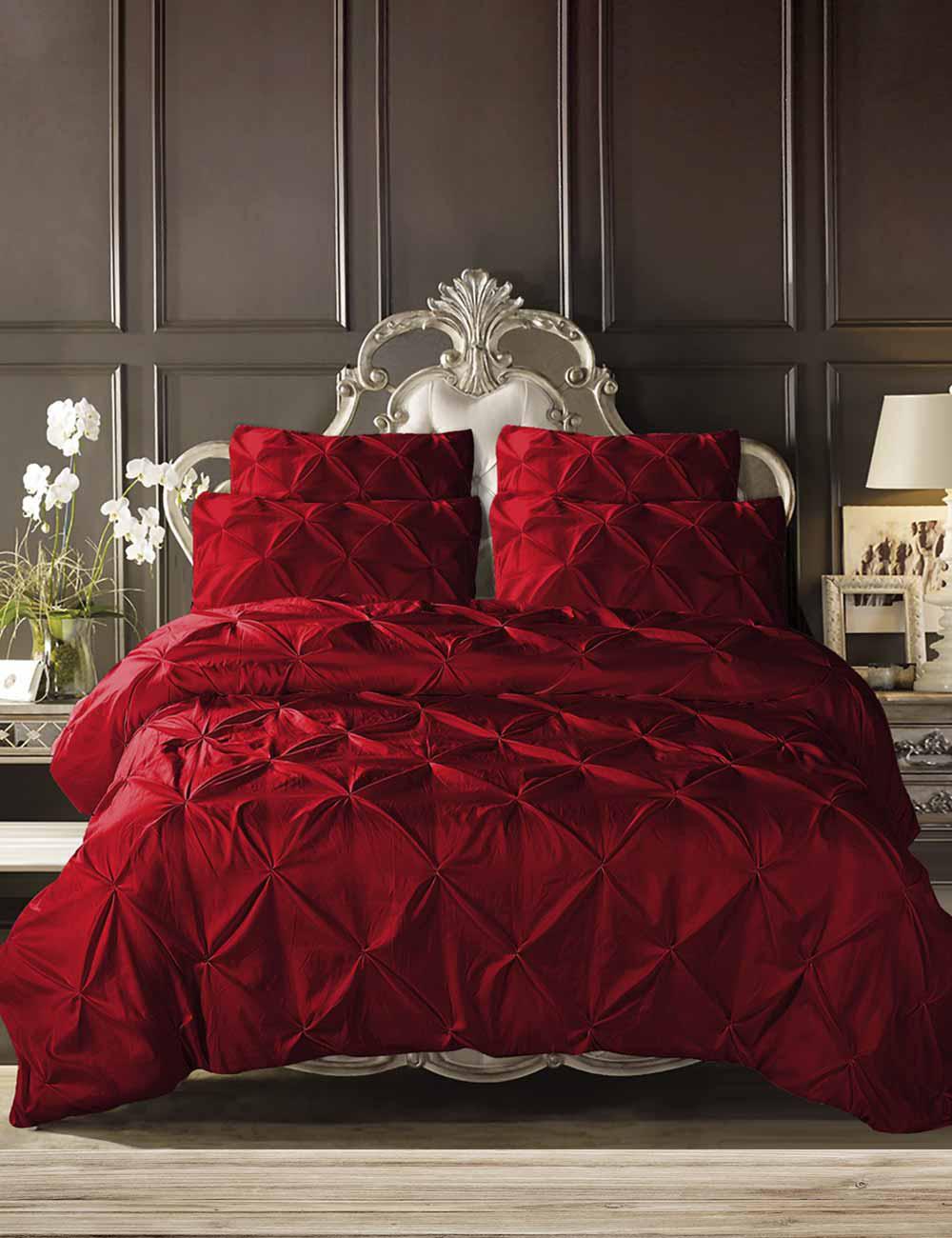 bettw sche pluma mit trendigem federndruck. Black Bedroom Furniture Sets. Home Design Ideas