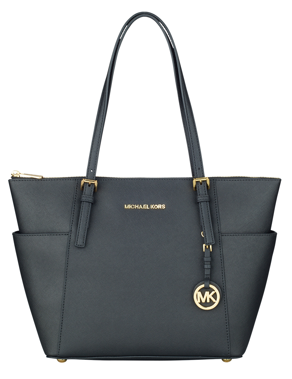 home mode accessoires handtasche von michael kors schwarz. Black Bedroom Furniture Sets. Home Design Ideas