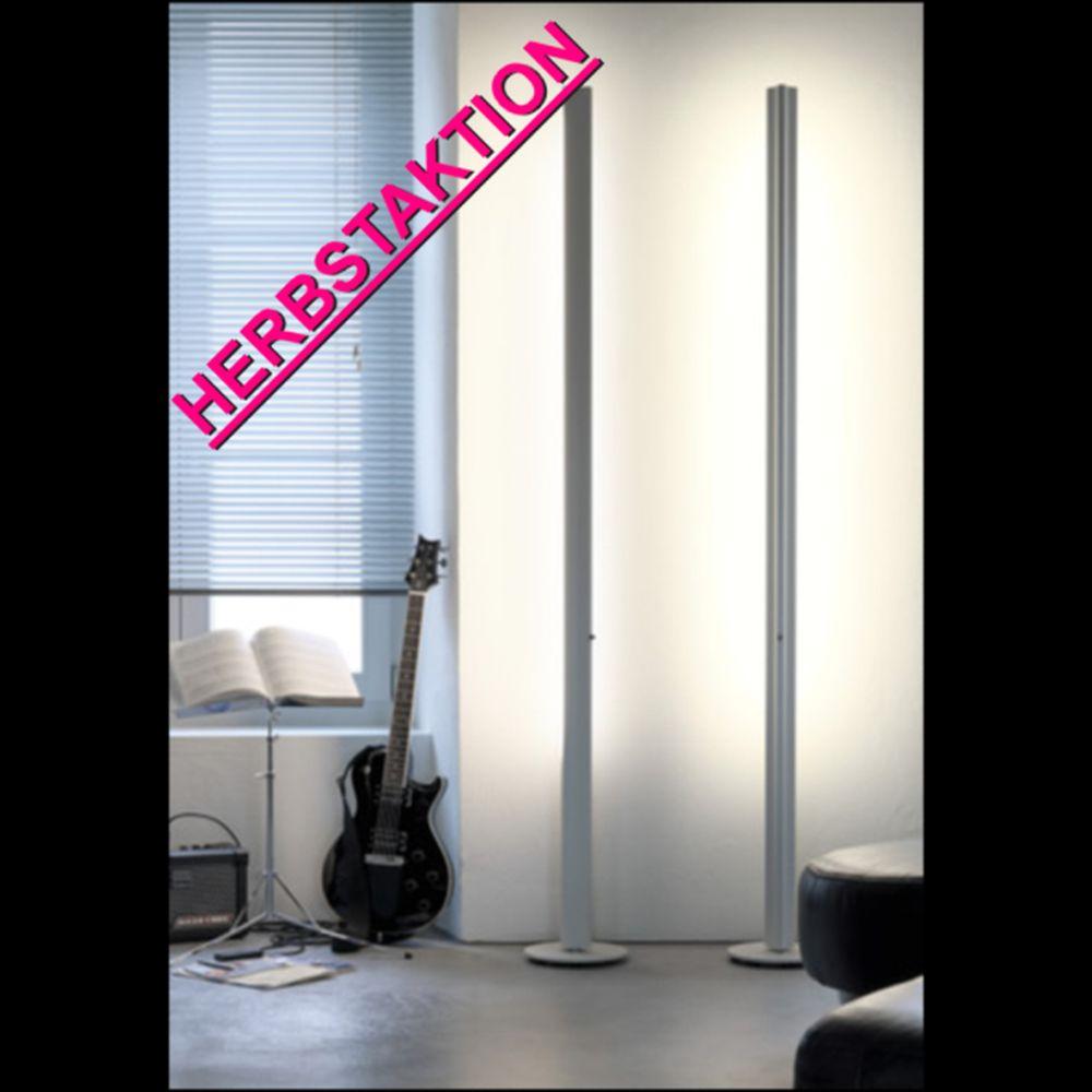 belux ypsilon stehlampe dimmbar weiss. Black Bedroom Furniture Sets. Home Design Ideas
