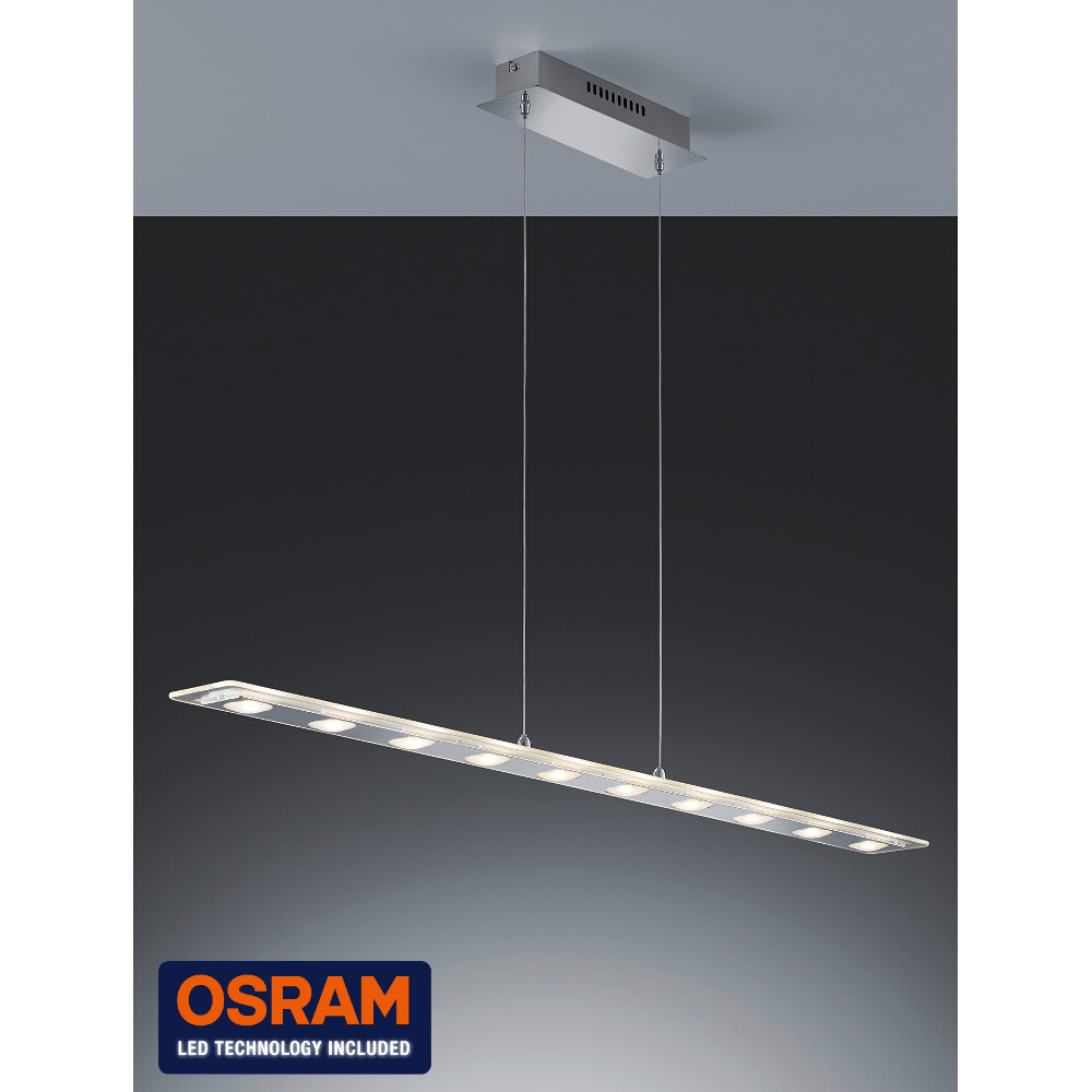 h ngelampe mit 10 osram led dimmbar