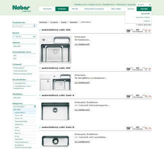 www.naber.de - Online-Shop powered by orbiz.