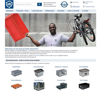 www.utzgroup.de - Online-Shop powered by orbiz.
